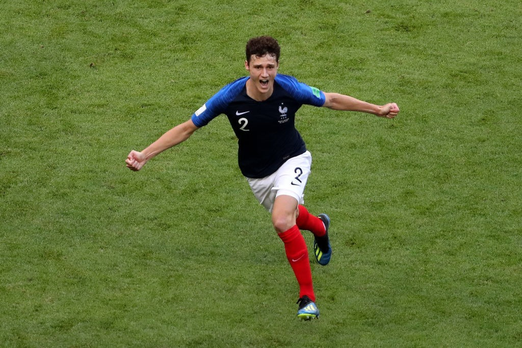Pavard has been such a revelation for France at FIFA World Cup 2018. (Photo courtesy - Catherine Ivill/Getty Images)