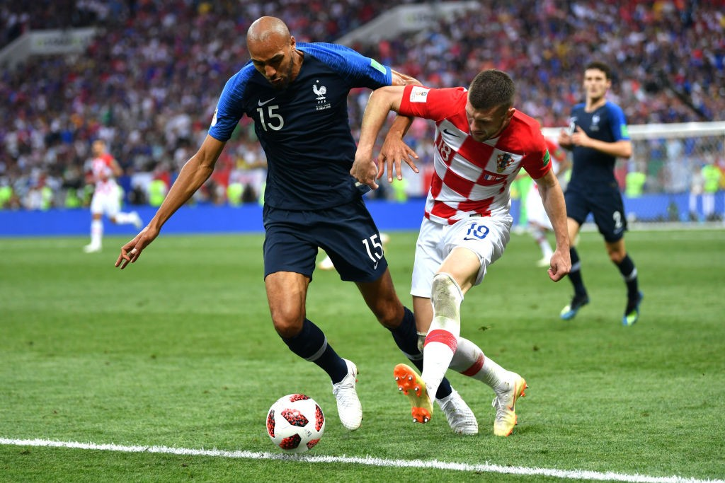 Steven Nzonzi played a decent role from the bench for France during their World Cup success in Russia. (Photo courtesy: AFP/Getty)