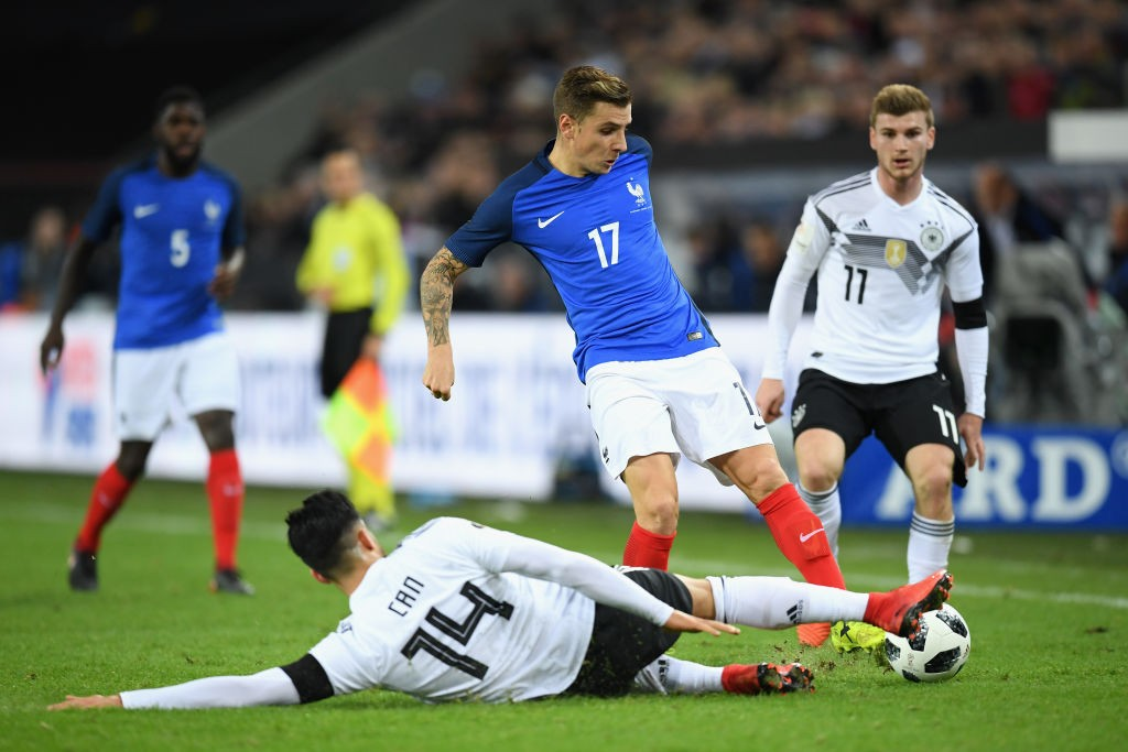 Lucas Digne's lack of regular game time at Barcelona saw him left out of the French squad for the World Cup. (Photo courtesy: AFP/Getty)