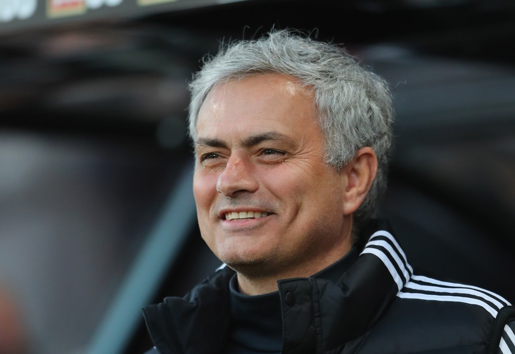 Will Mourinho be smiling at the end of the season? (Photo courtesy - Warren Little/Getty Images)