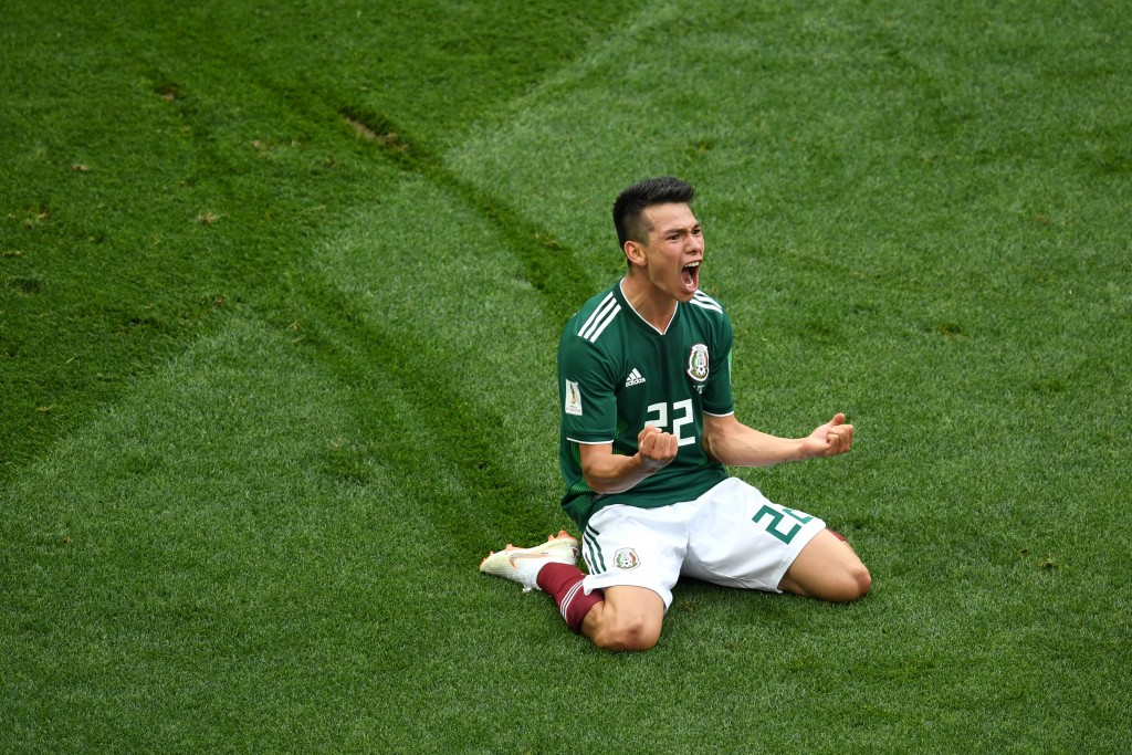 Lozano gave it his best in Russia. (Picture Courtesy - AFP/Getty Images)