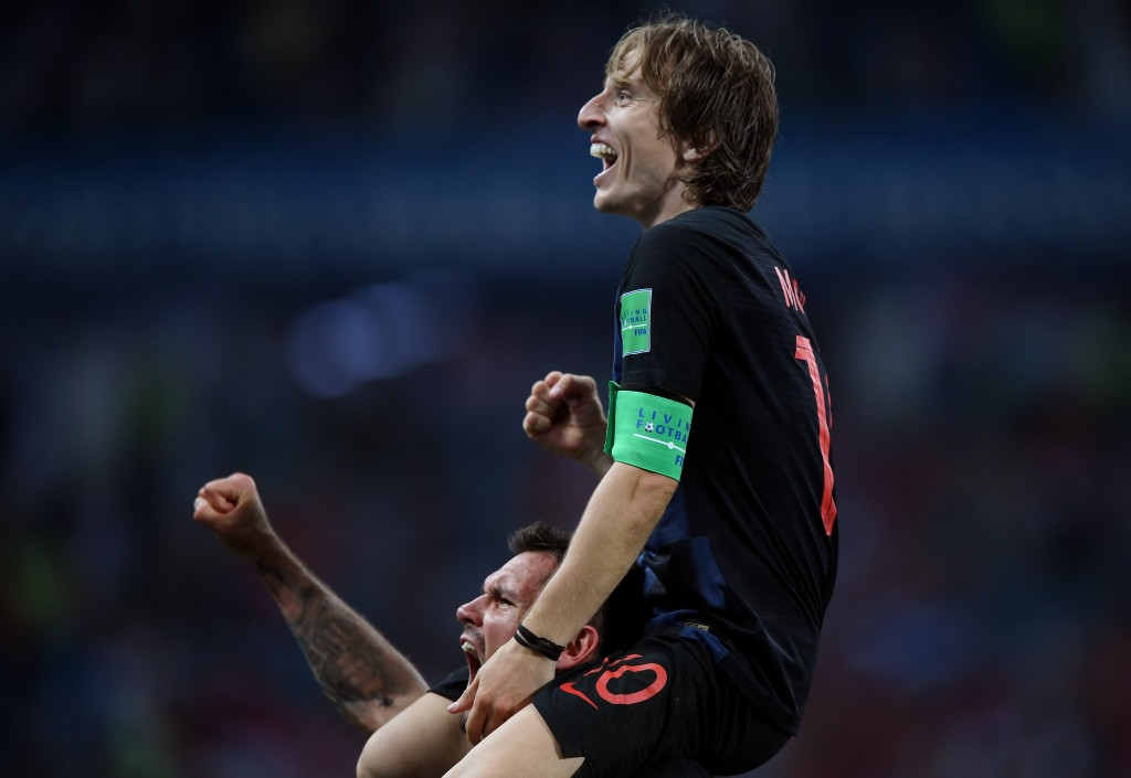 An occasion tailor-made for a Modric masterclass. (Picture Courtesy - AFP/Getty Images)