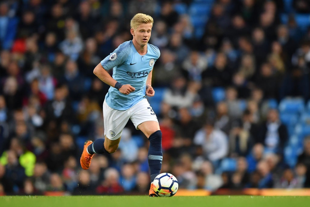Zinchenk could become Wolves' record signing if he is to move from Manchester City. (Photo courtesy: AFP/Getty)