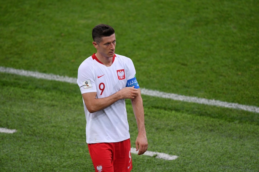 Will Poland captain Robert Lewandowski lead by example against Italy? (Photo by Laurence Griffiths/Getty Images)