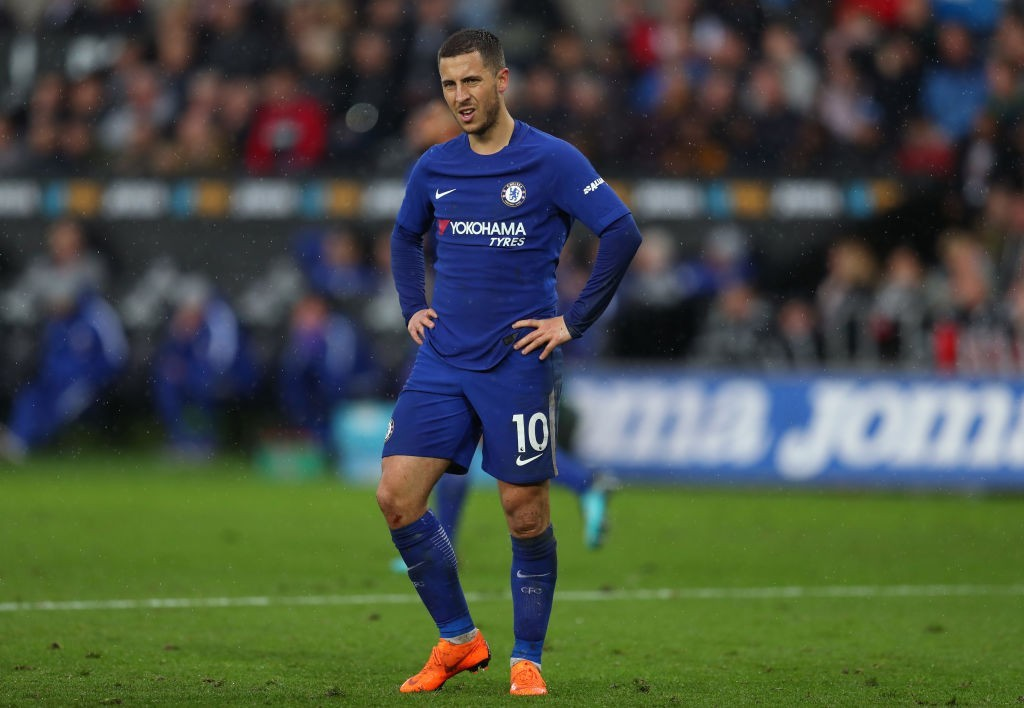 Is it time up for Hazard at Chelsea? (Photo courtesy - Catherine Ivill/Getty Images)