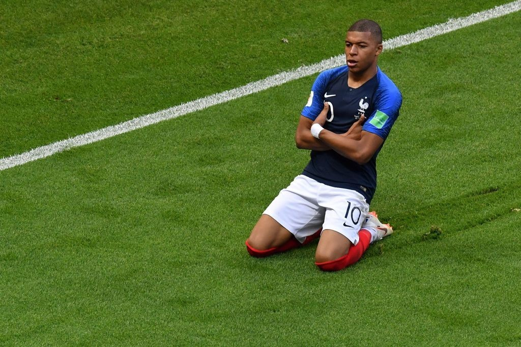 Can Mbappe fire France to a victory again? (Photo by SAEED KHAN/AFP/Getty Images)
