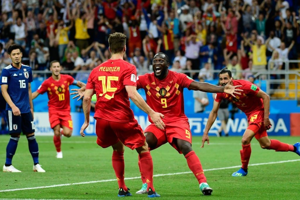 Lukaku's has produced one of the most beautiful moments of the 2018 FIFA World Cup. (Photo courtesy - Pierre-Philippe Marcou/AFP/Getty Images)