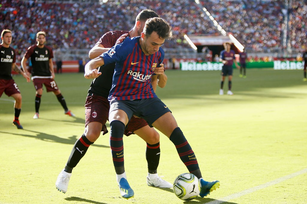 Munir El Haddadi has been impressing Ernesto Valverde during pre-season and is set to prolong his stay with Barcelona. (Photo courtesy: AFP/Getty)