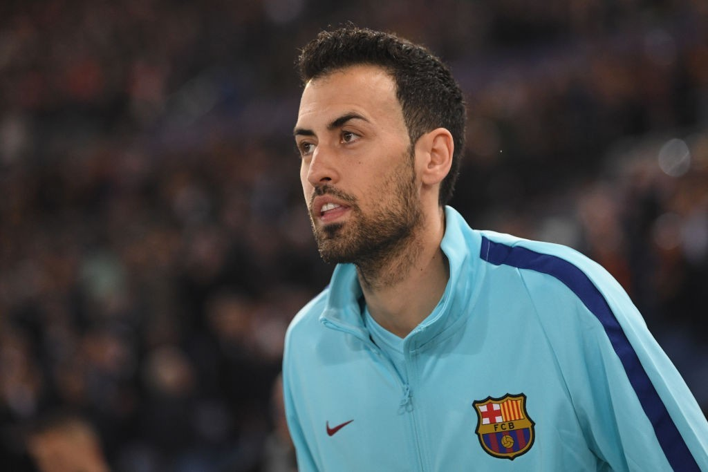 Replacing Busquets is no simple task. (Picture Courtesy - AFP/Getty Images)