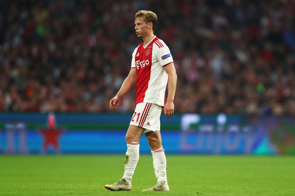 Set to stay put at Ajax. (Photo courtesy - Dean Mouhtaropoulos/Getty Images)