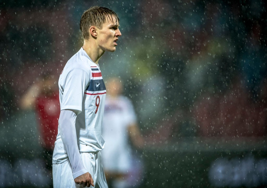 Arsenal should make a move for Odegaard instead of Maddison and Aouar. (Photo by Trond Tandberg/Getty Images)