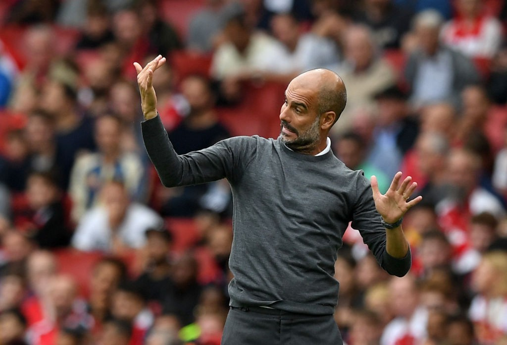 Pep Guardiola has a fully fit squad at his disposal. (Photo by Shaun Botterill/Getty Images)