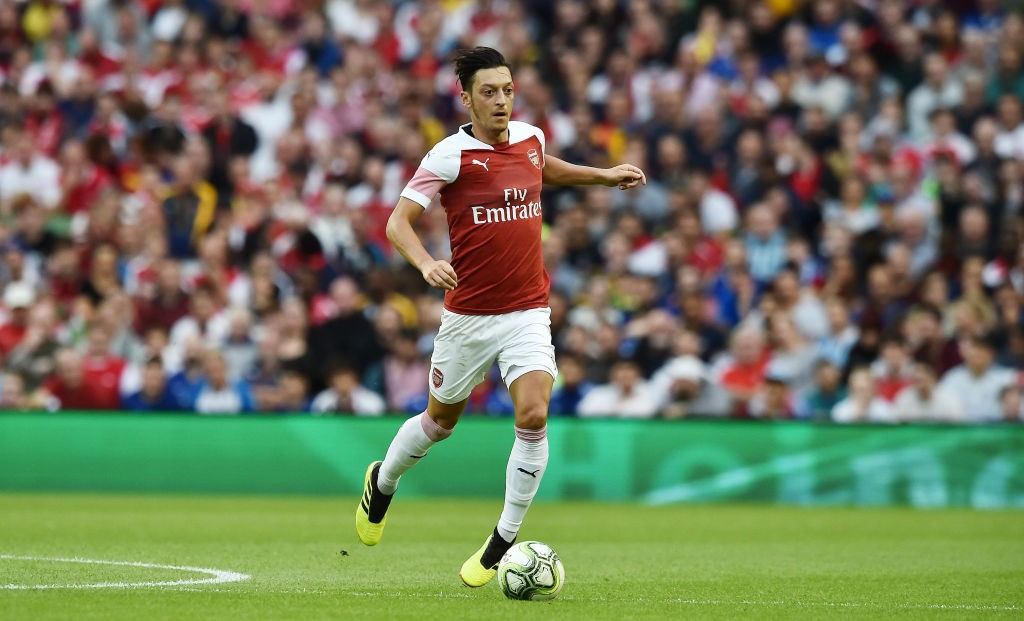 Mesut Ozil will be eying another big performance against Lazio. (Courtesy: AFP/Getty)