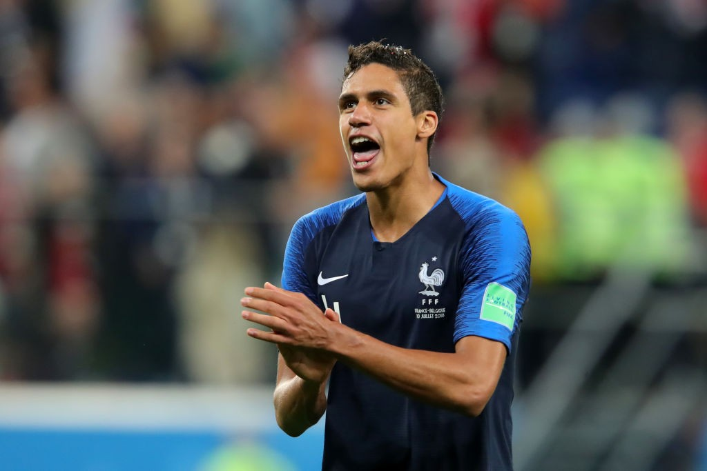 Raphael Varane played a starring role for France at the World Cup. (Photo Courtesy: AFP/Getty)