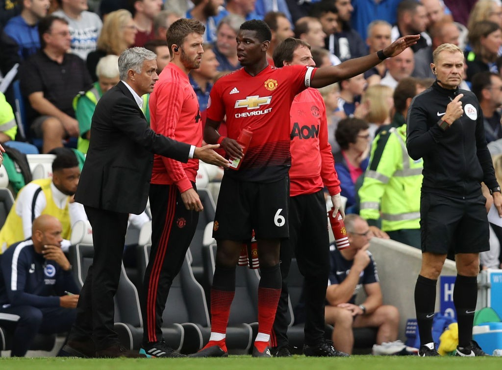 Pogba has not enjoyed the best of relationships with Jose Mourinho. (Photo courtesy - Dan Istitene/Getty Images)