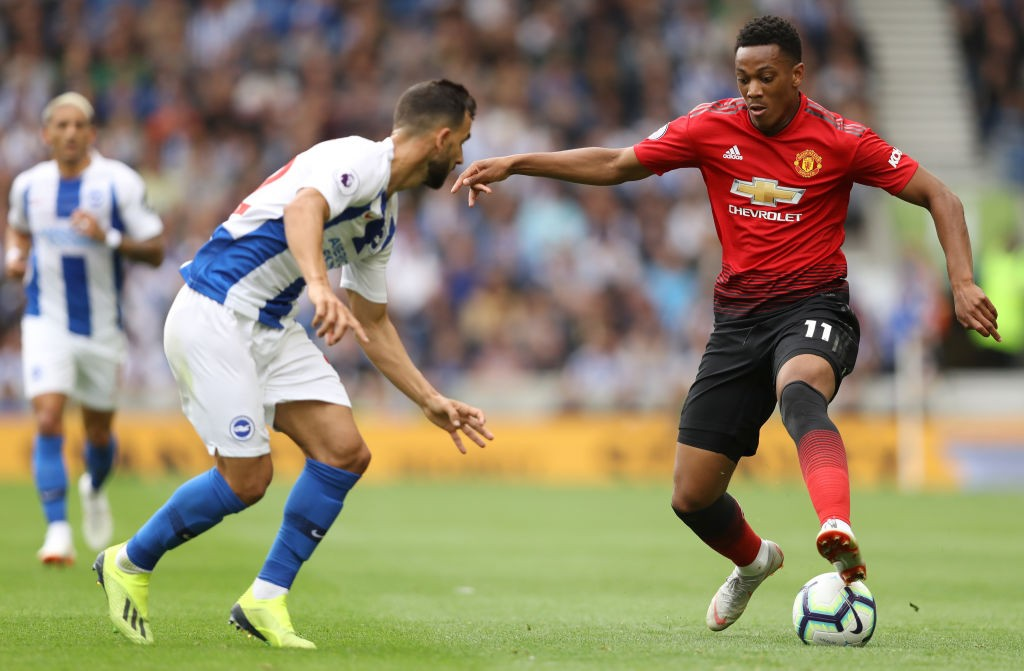 Anthony Martial's fractured relationship with manager Jose Mourinho has been the subject of talk and one of the concerns around his future at the club. (Photo courtesy: AFP/Getty)