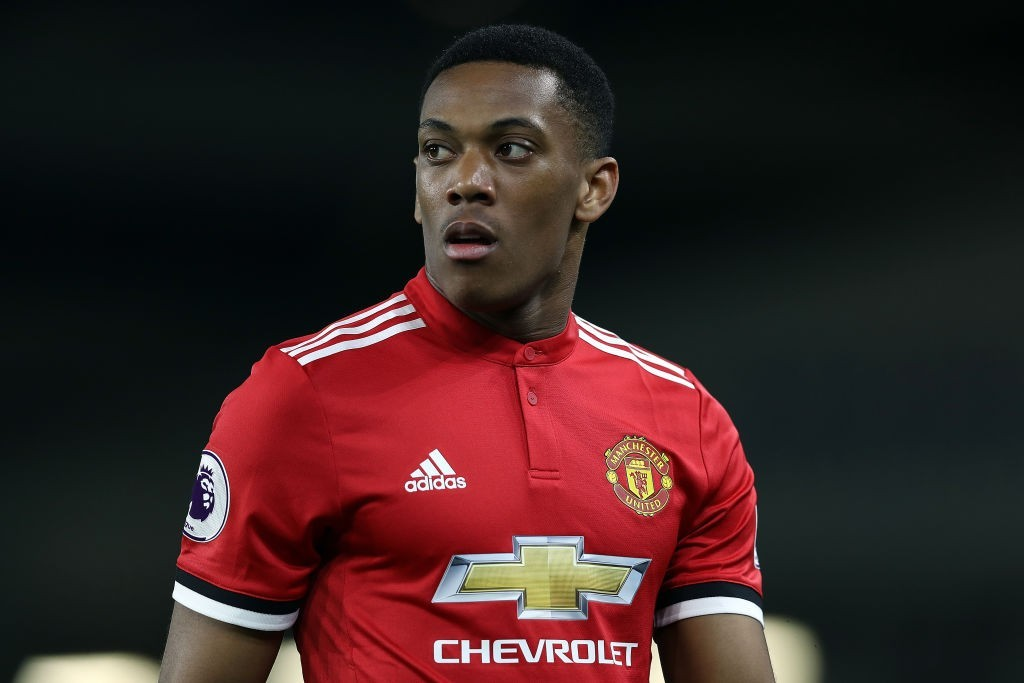 Sam Allardyce didn't hold back with his opinion on Anthony Martial