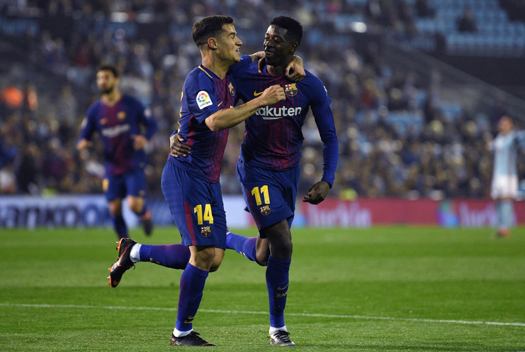 Barcelona are ready to offer Coutinho and Dembele for Neymar. (Photo courtesy: AFP/Getty)