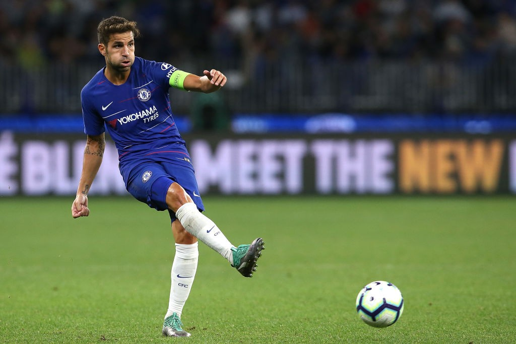 Cesc Fabregas is set to miss Chelsea's game against his former side Arsenal with a minor injury. (Photo courtesy: AFP/Getty)