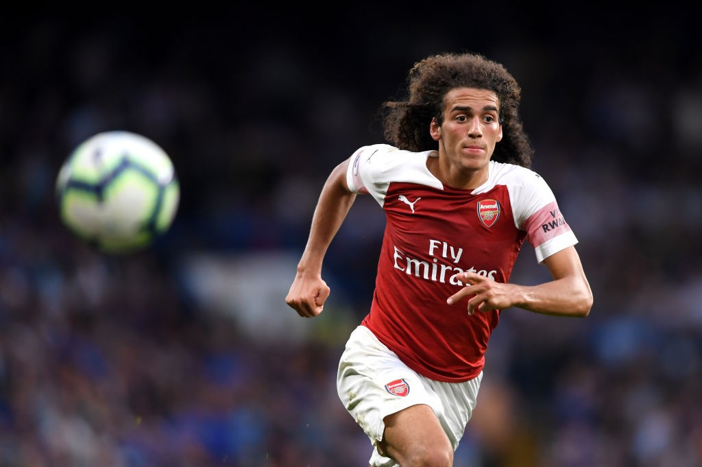 Matteo Guendouzi had another terrific outing, this time against Chelsea. (Photo courtesy: AFP/Getty)