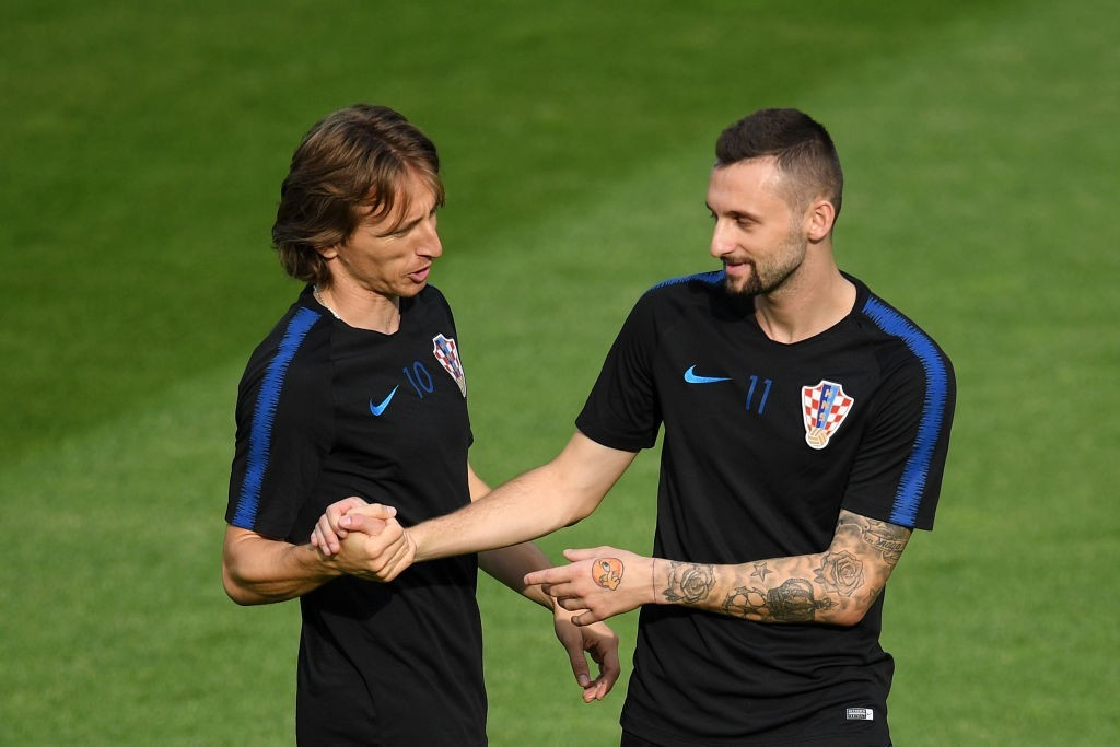 Can Marcelo Brozovic take some of the load off of captain Luka Modric? (Photo by Matthias Hangst/Getty Images)