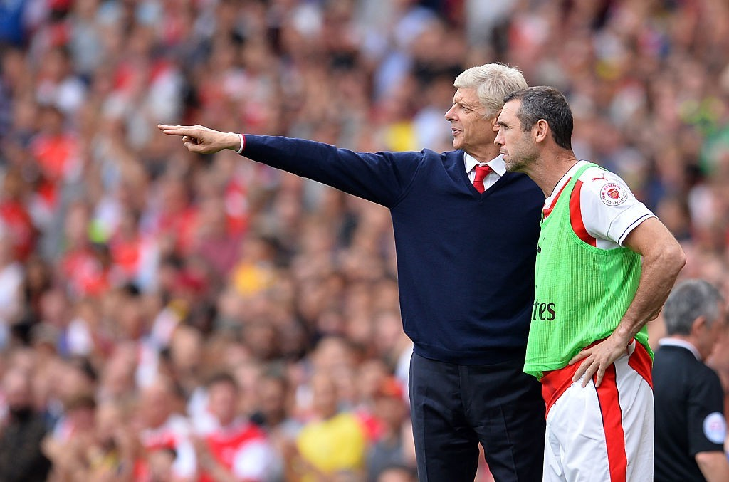 Not heeding Keown's advice? (Photo courtesy - Glyn Kirk/AFP/Getty Images)