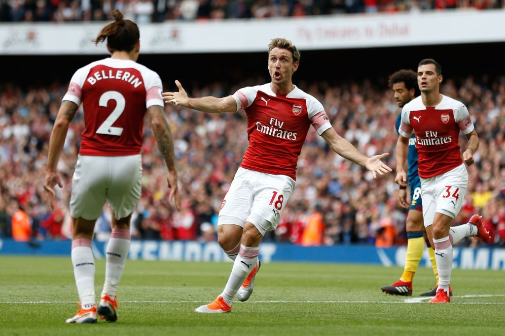 Arsenal manager Unai emery wants the club to offer Nacho Monreal a new contract. (Photo courtesy: AFP/Getty)