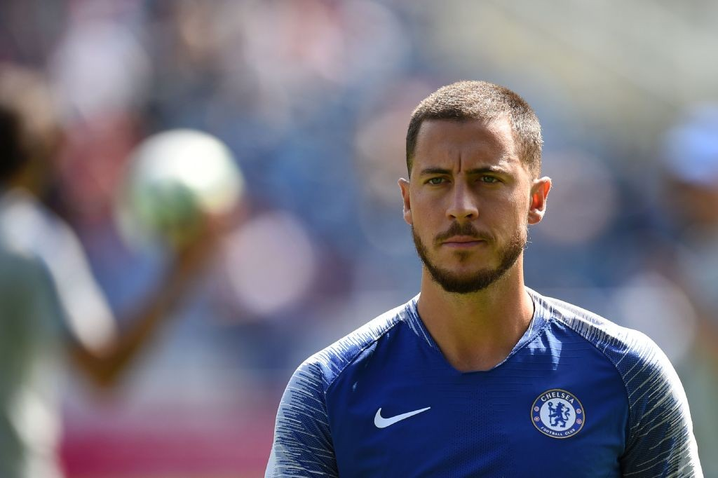Eden Hazard is primed to make his first start of the season for Chelsea when they take on Arsenal. (Photo courtesy: AFP/Getty)