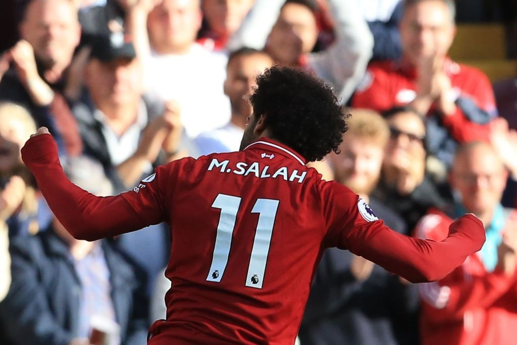 Liverpool's match-winner again (Photo by LINDSEY PARNABY/AFP/Getty Images)