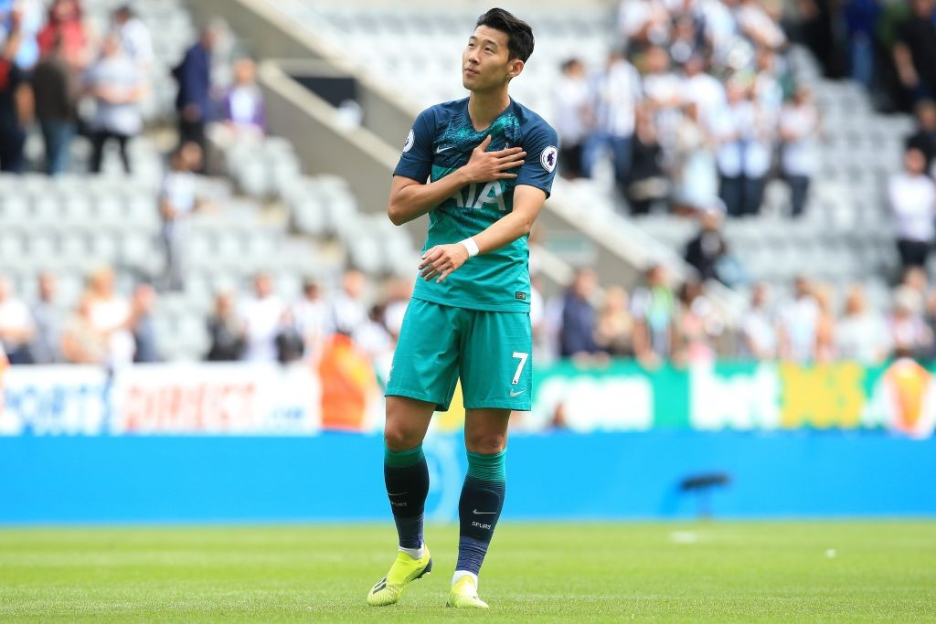Tottenham are set to be without the services of Heung -min Son for some time as the attacker represents South Korea in the Asian Cup. (Photo courtesy: AFP/Getty)