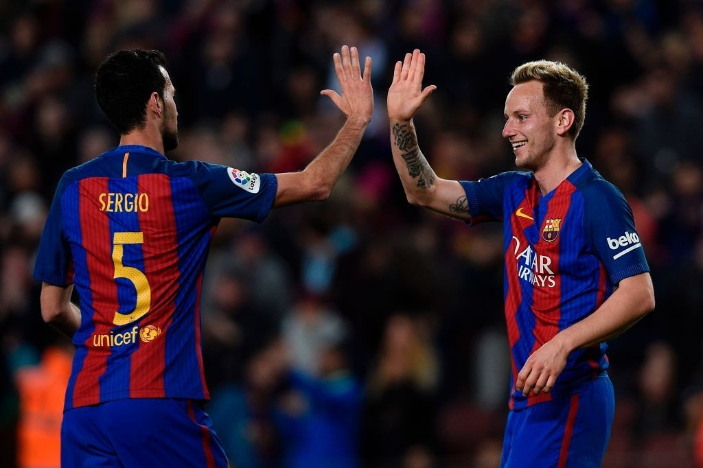Set to continue their partnership away from Barcelona? (Photo courtesy - Lluis Gene/AFP/Getty Images)