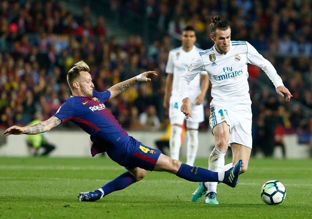 Ivan Rakitic has been one of Barcelona's important players since moving from Sevilla a few years ago. (Photo courtesy: AFP/Getty)
