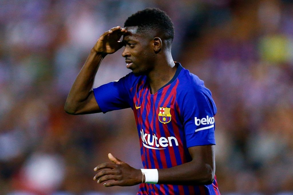 Dembele was the difference-maker for Barca (Photo by BENJAMIN CREMEL/AFP/Getty Images)