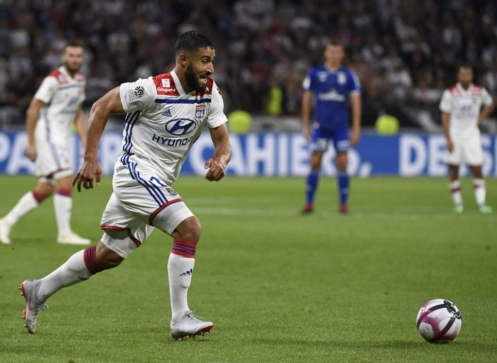 Lyon managed to keep hold of Nabil Fekir this summer. (Photo courtesy - Philippe Desmazes/AFP/Getty Images)