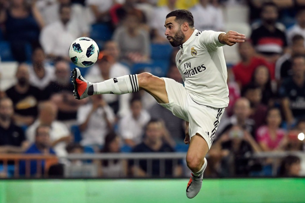 Carvajal was in his elements on Saturday. (Photo courtesy - Gabriel Bouys/AFP/Getty Images)