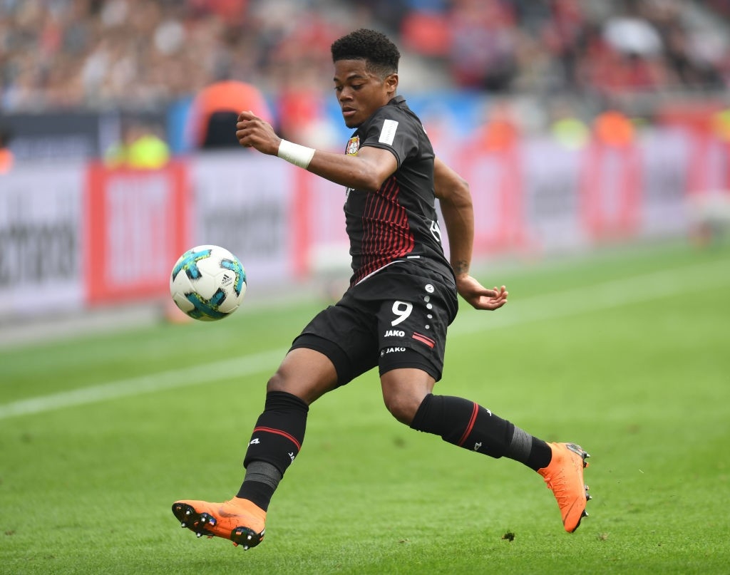 Leon Bailey scored 9 goals and made 6 assists for Bayer Leverkusen last season and has now signed a new deal with the Bundesliga side. (Photo courtesy: AFP/Getty)