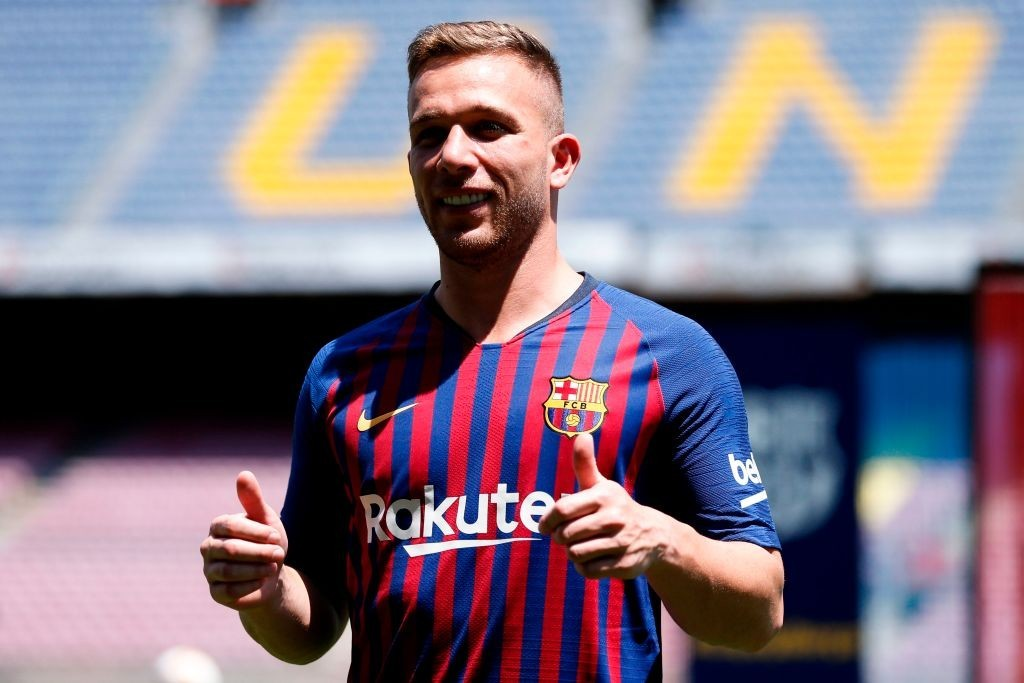 Barcelona new boy Arthur in line for Brazil debut (Photo courtesy - Pau Barrena/AFP/Getty Images)