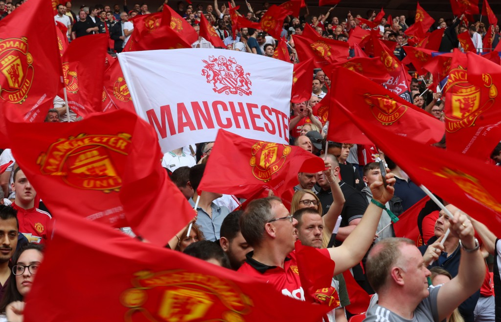The Old Trafford faithfuls have experienced loads of success in the Premier League era, bar the last half-a-decade or so. (Photo by Catherine Ivill/Getty Images)
