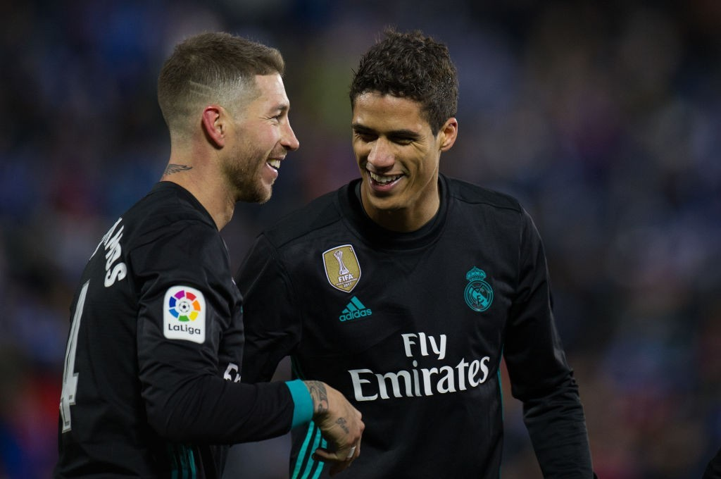 Set to continue at Real Madrid alongside Sergio Ramos. (Photo courtesy - Denis Doyle/Getty Images)