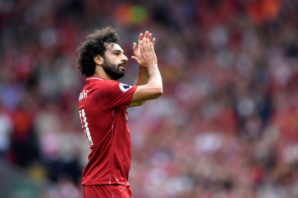 There's no stopping Salah. (Photo courtesy - Laurence Griffiths/Getty Images)