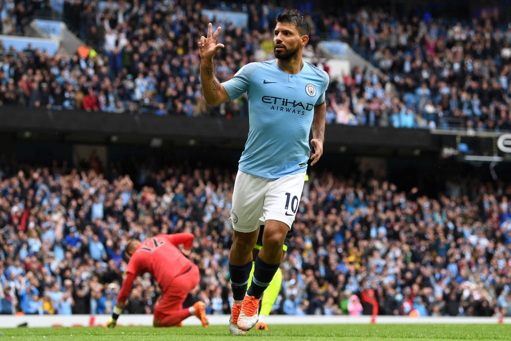 Sergio Aguero has a liking for newly-promoted sides and scores plenty of goals against them. (Photo courtesy: AFP/Getty)