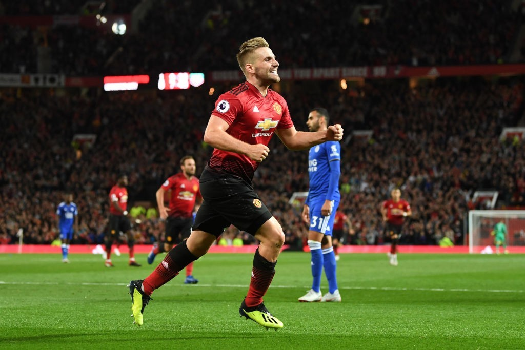 Man of the moment - Luke Shaw (Photo by Michael Regan/Getty Images)