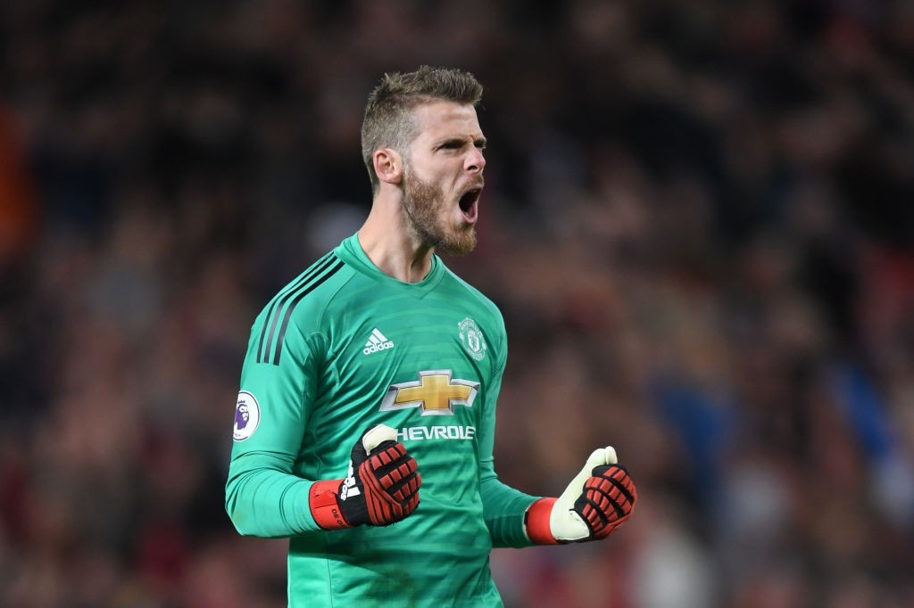 The Golden Glove of De Gea came to United's rescue (Photo by Laurence Griffiths/Getty Images)