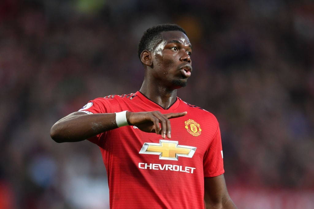 Pogba led from the front in Manchester United's season opener. (Photo courtesy - Michael Regan/Getty Images)