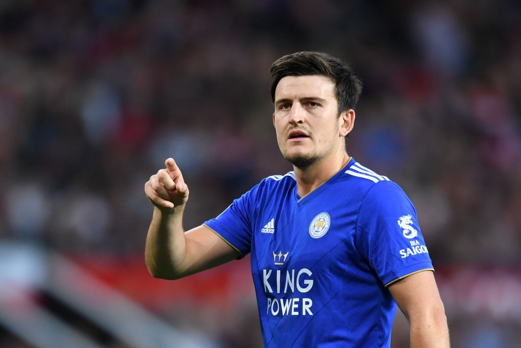 Committed to the blue of Leicester. (Photo courtesy - Michael Regan/Getty Images)