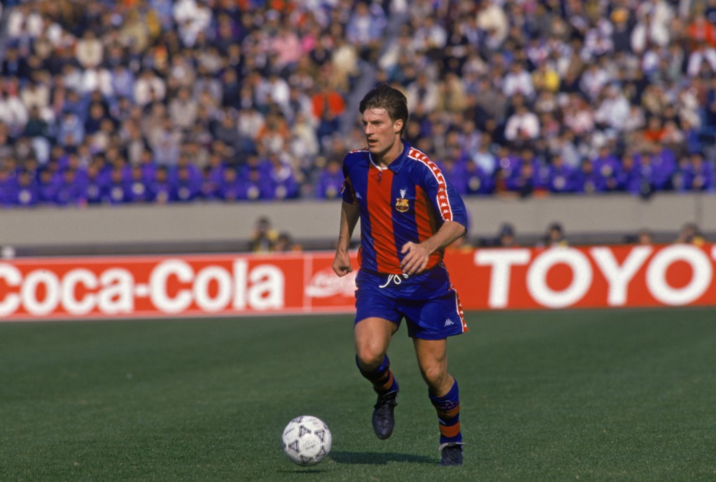 A mesmerising Michael Laudrup would turn out to be one of David Silva's heroes. (Photo courtesy - Shaun Botterill/Getty Images)