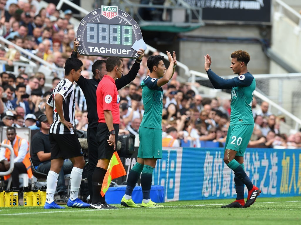 Dele Alli and Son Heung-min are two of the gems that were discovered by Paul Mitchell at Tottenham. (Photo courtesy - Tony Marshall/Getty Images)