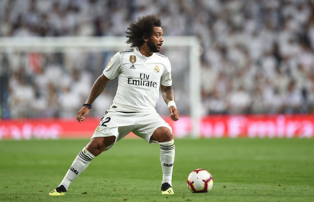 Marcelo is seemingly unhappy with Julen Lopetegui's management (Photo courtesy: AFP/Getty)