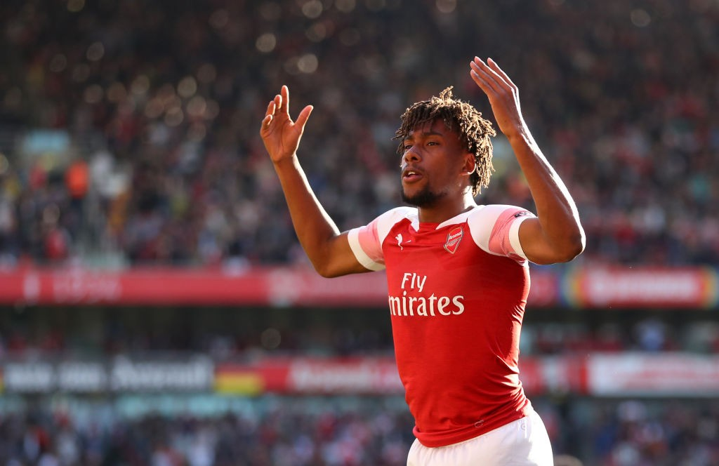 Iwobi's introduction changed the game for Arsenal resulting in two goals. (Photo courtesy: AFP/Getty)
