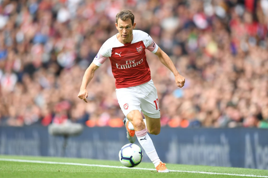 Lichtsteiner will leave Arsenal after only a single season at the club. (Photo courtesy: AFP/Getty)